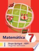 Matematica Quiriguá Segundo Semestre