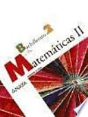 Matemáticas, 2 Bachillerato