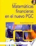 Matemáticas financieras en el nuevo PGC