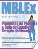 MBLEx Preguntas de Práctica and Guía de Estudio de Terapia de Masaje