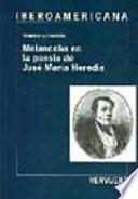 Melancolía en la poesía de José María Heredia