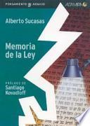 Memoria de la ley