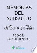 Memorias del subsuelo