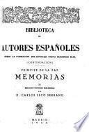 Memorias. Edicion y estudio preliminar de Carlos Secco Serrano