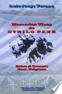 Memorias Vivas de CYRILO PANE