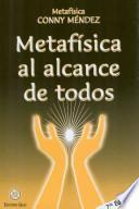 Metafisica al alcance de todos / Metaphysics for Everyone