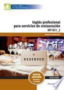 MF1051_2 - Inglés para servicios de restauración