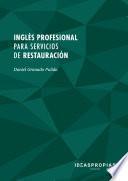 MF1051_2 Inglés profesional para servicios de restauración