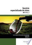 MF1110_3 - Servicio especializado de vinos