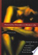 Millon, T., Trastornos de la personalidad en la vida moderna, 2a ed. ©2006