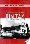 Miscelánea histórica de Píntag