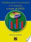 Modelos para la economía y la empresa a través de Excel