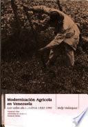 Modernización agrícola en Venezuela