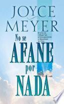 No Se Afane Por Nada - Pocket Book