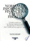Normas de Información Financiera y Leyes Fiscales