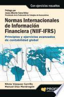 Normas internacionales de información financiera (NIIF-IFRS)