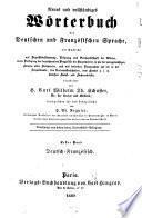 Nouveau dictionnaire des langues allemande et française
