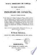 Nueva dirección de cartas por orden alfabético para el principado de Cataluña