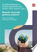 Nuevas voces de política exterior