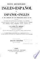 Nuevo diccionario inglés-español y español-inglés