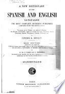 Nuevo diccionario ingles-espaõl y espanol-ingles