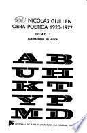 Obra poética, 1920-1972: 1920-1958