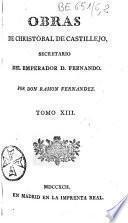 Obras de Christobal de Castillejo,... por Don Ramon Fernandez