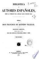 Obras de D. Francisco de Quevedo Villegas