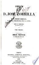 Obras de D. Jose Zorrilla: Obras poeticas y dramticas
