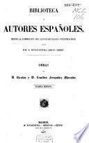 Obras de D. Nicolás y D. Leandro Fernández de Moratín