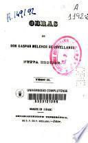 Obras de Don Gaspar Melchor de Jovellanos
