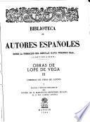 Obras de Lope de Vega: Comedias de vidas de santos