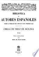 Obras de Tirso de Molina