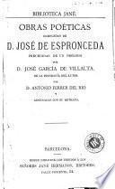 Obras poéticas completas de D. José de Espronceda