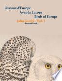 Oiseaux d'Europe - John Gould - Vol. 1 - Les Rapaces