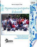 Organizaciones participativas de desarrollo