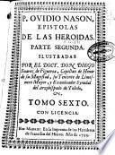P. Ovidio Nason Epistolas de las Heroidas