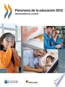 Panorama de la educación 2012: Indicadores de la OCDE