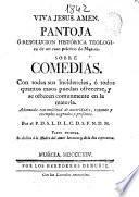 Pantoja ó Resolución histórica teológica de un caso práctico de moral sobre comedias