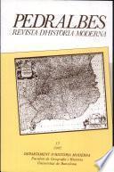 Pedralbes Revista D'historia Moderna