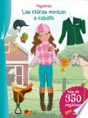 Pegatinas: Las Chicas Montan a Caballo