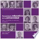 Pensamiento educativo en la universidad