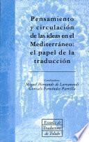 Pensamiento y circulación de las ideas en el Mediterráneo