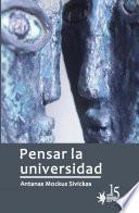 Pensar la universidad