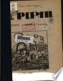 Perfil : revista literaria UNAN.
