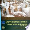 Pericias contribuyentes a mitigar los efectos de las olas frías y tormentas de nieve en favor de la ganadería alto andina