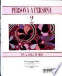 Persona A Persona