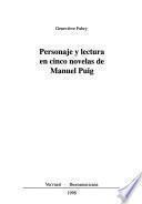 Personaje y lectura en cinco novelas de Manuel Puig