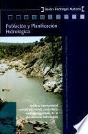 Población y planificación hidrológica