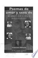 Poemas de amor y sexo de Manuel del Cabral